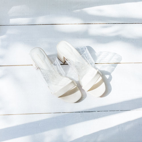 CLEAR SANDALS